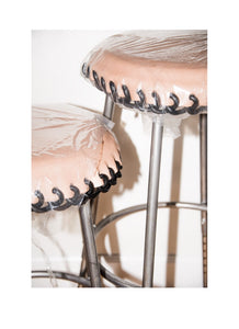Chrome Frame Bar Stool