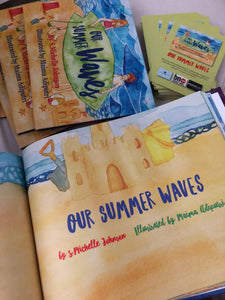 Our Summer Waves Childrens Surfing Book