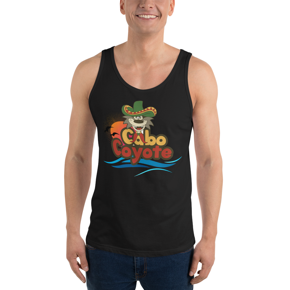 Bold Sunset & Waves Tank Top