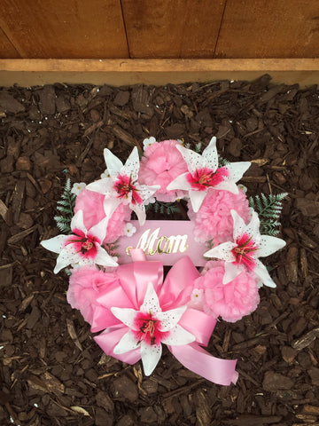 Open Mom Wreath
