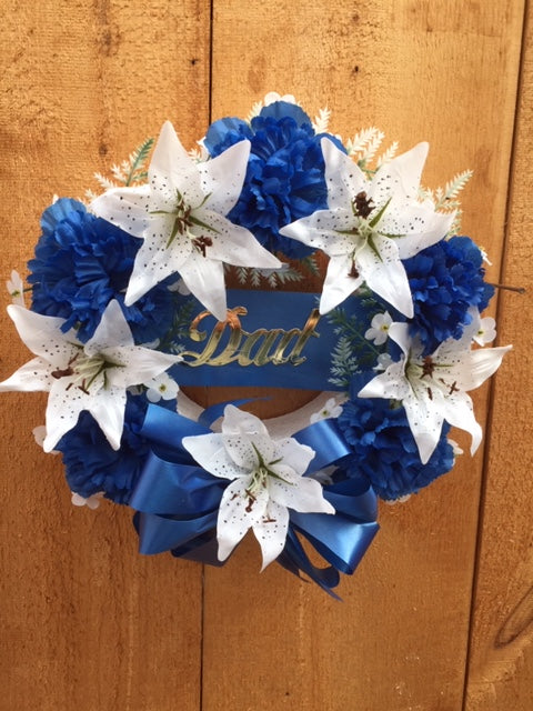 Open Dad Wreath