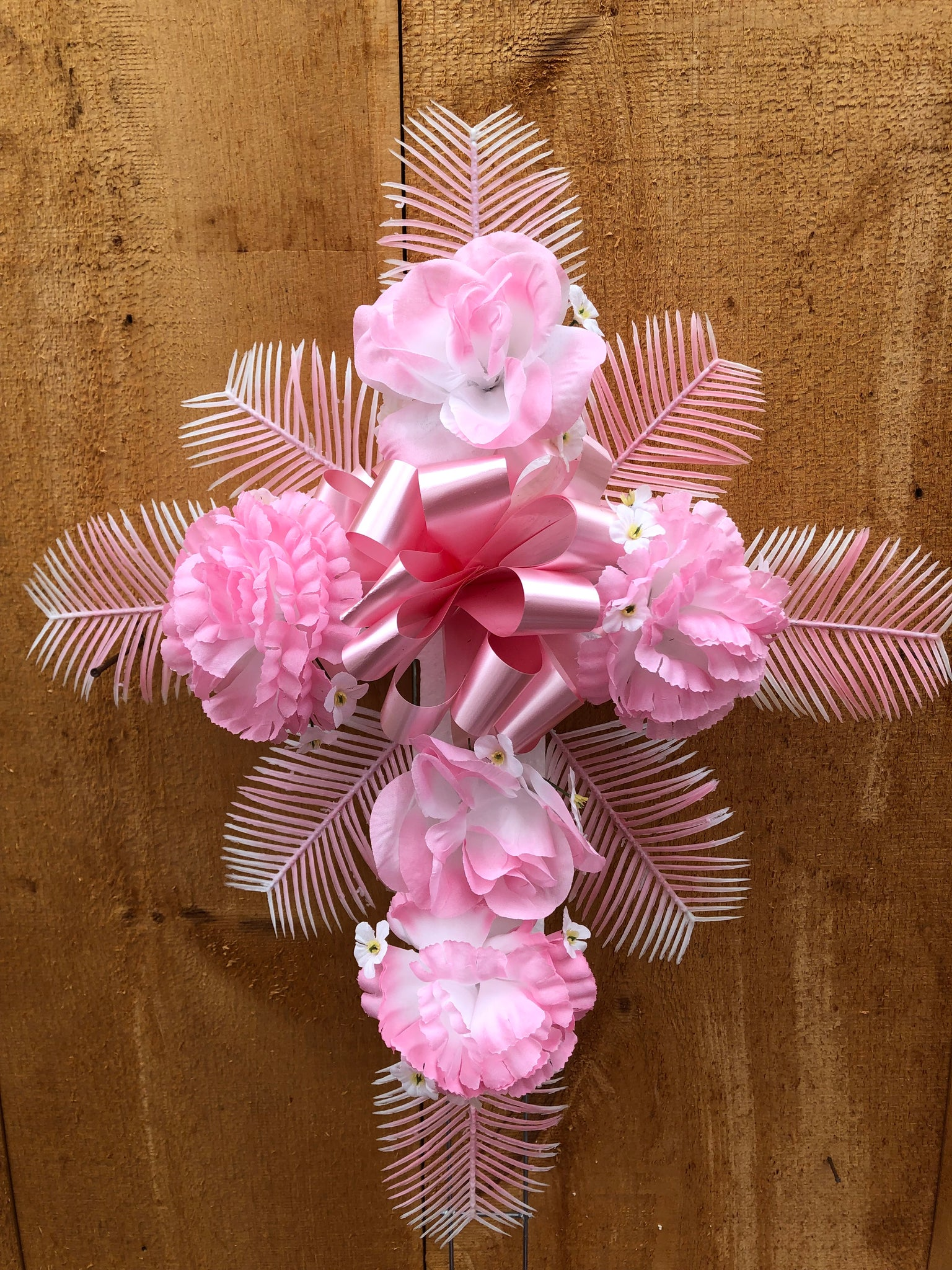 Small Pink Cross