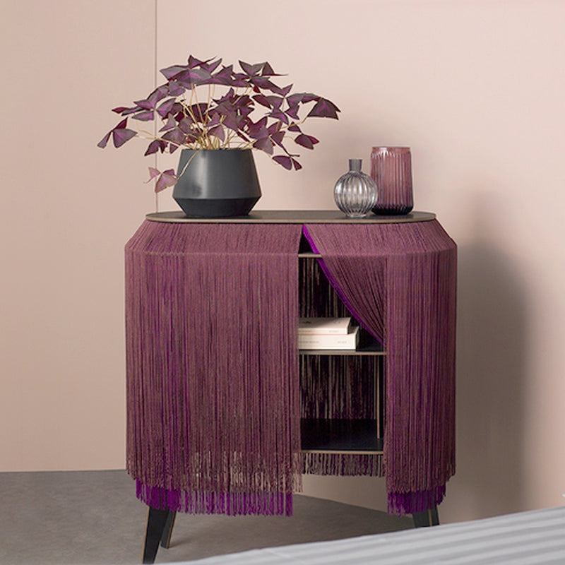 Bordeaux Fringe side table