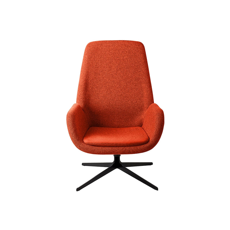 Red Mysa Lounge Chair
