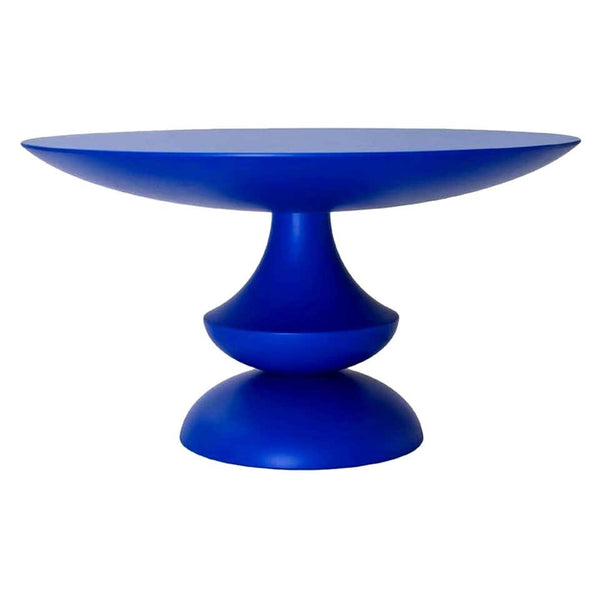 Blue Lacquered Birignao Side Table