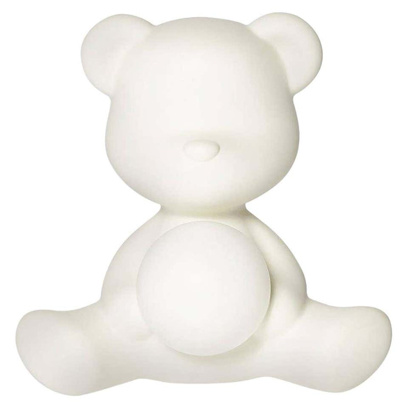 White Teddy Bear Lamp LED Rechargeable