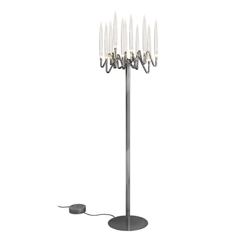 Solid Brass Plated Floor Lamp