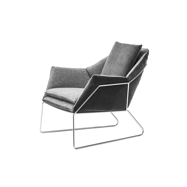 New York chair Black