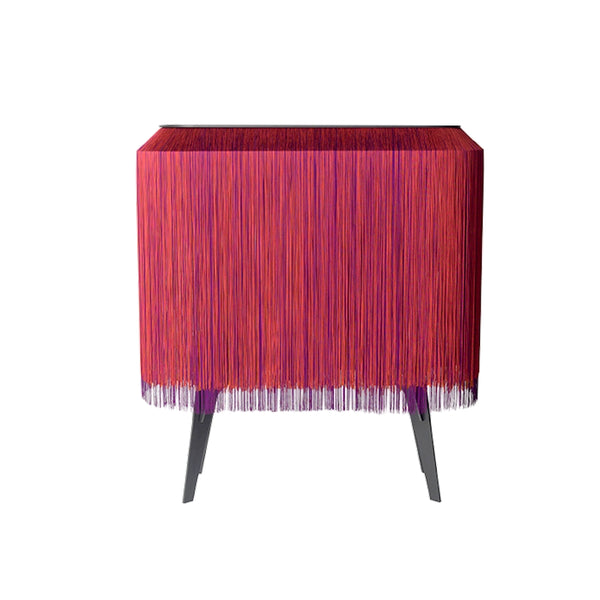 Large Red Fringe Bar
