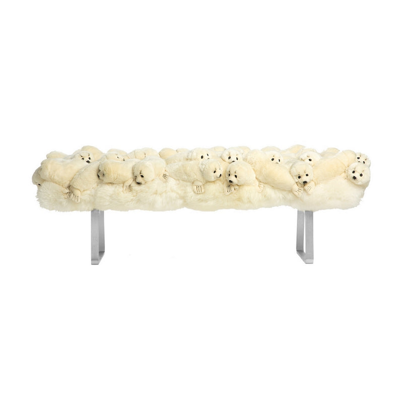 Seal Fluffy Bench