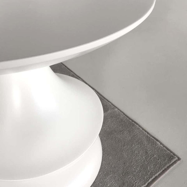 White Birignao Side Table