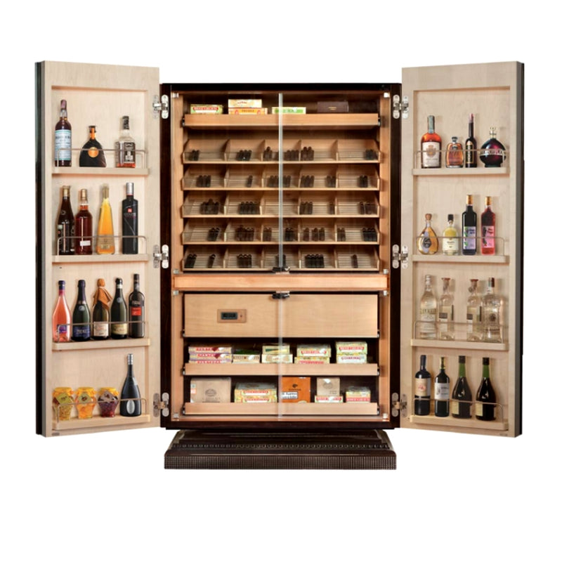 Multi-Functional Cigar Humidor Cabinet