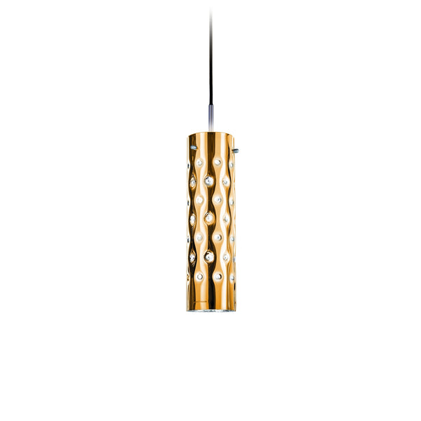 Dimple suspension lamp (Gold)