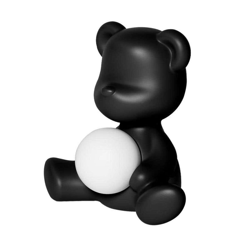 Black Teddy Bear Lamp LED Rechargeable