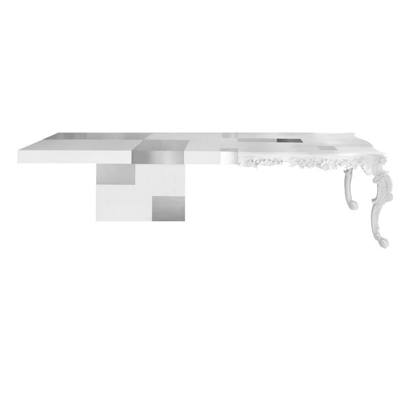 Evo White Dining Table