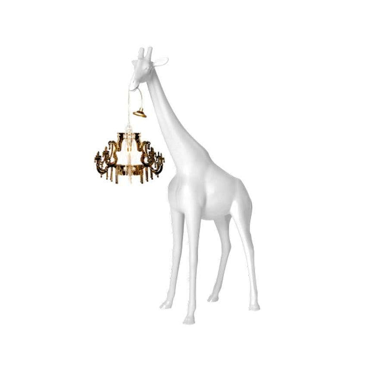 White Giraffe in Love XS Chandelier