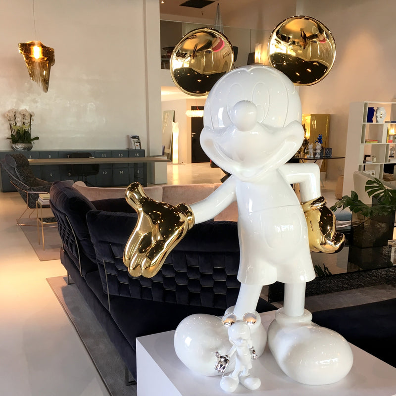 Life-Size Mickey Resin Statue