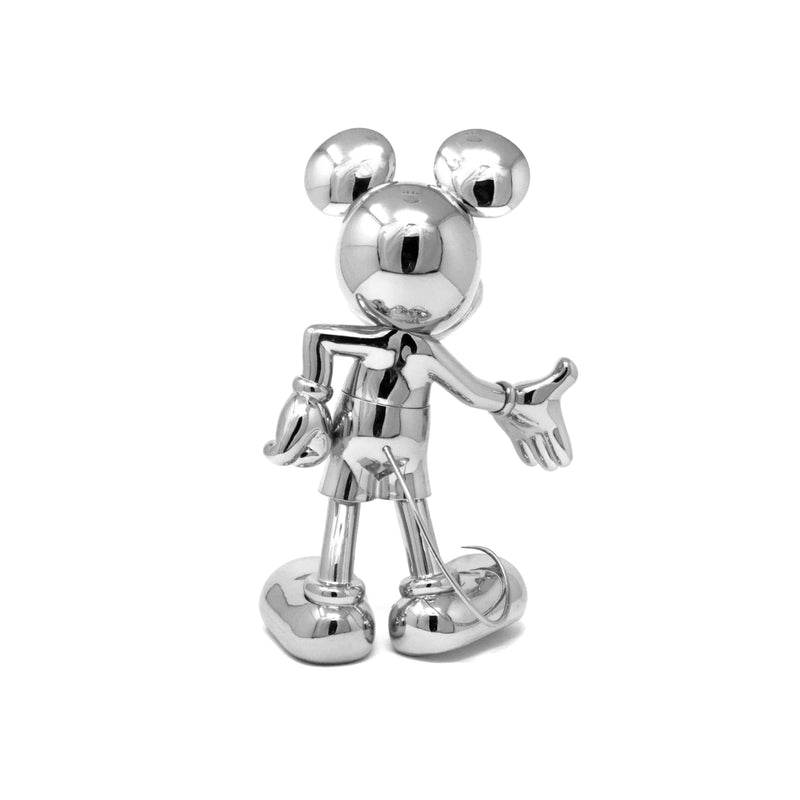 Mickey, Metallic Figurine Silver