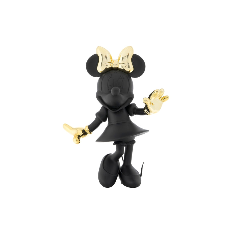 Minnie, Bi-color Figurine Black & Gold