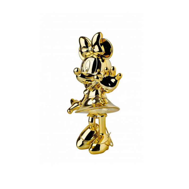 Minnie, Metallic Figurine Gold