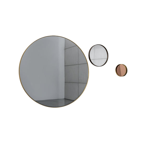 Visual round mirror