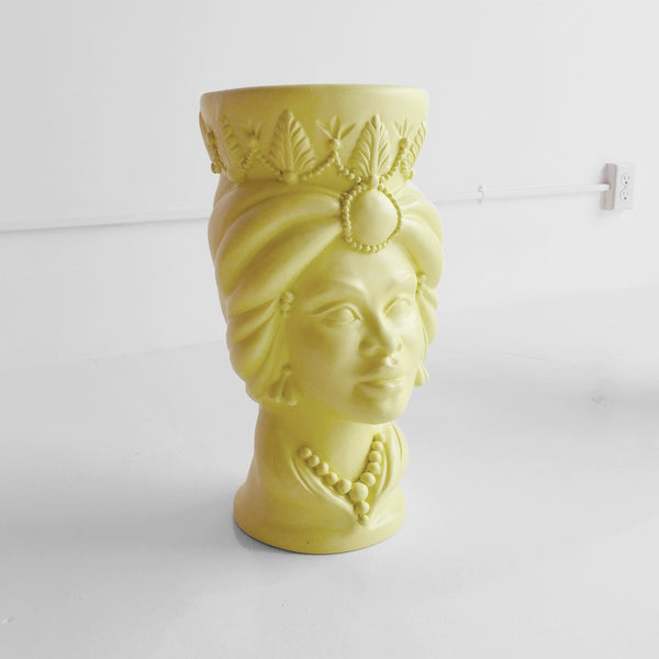 Yellow La Mora Stool