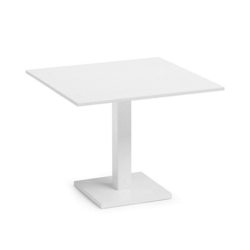 White Lacquered Aluminium Outdoor Orione Table