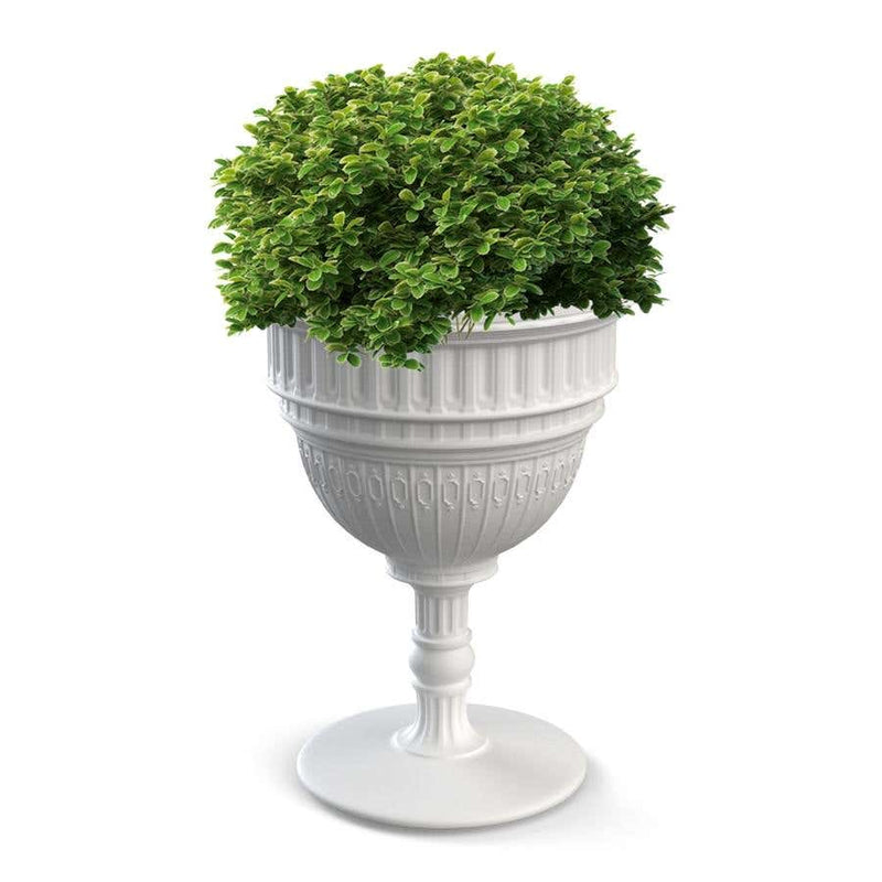 White Capitol Planter / Champagne Cooler