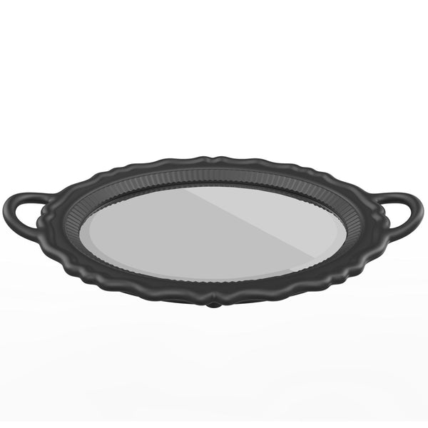 Black Plateau Mirror