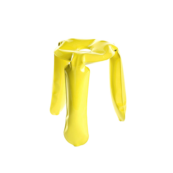 Limited Edition Stool in Glossy Yellow Finish