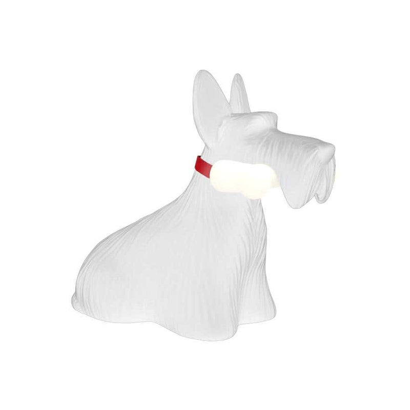 White Scottie Dog LED Lamp