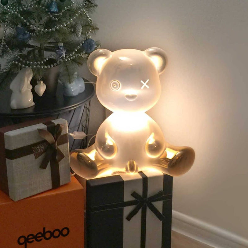 Teddy boy lamp