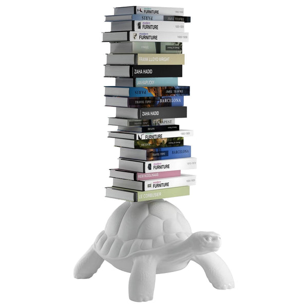 White Turtle Bookcase