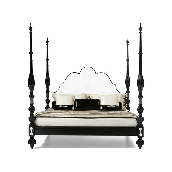 Black Marrakesh Four Poster Pacha King Size Bed