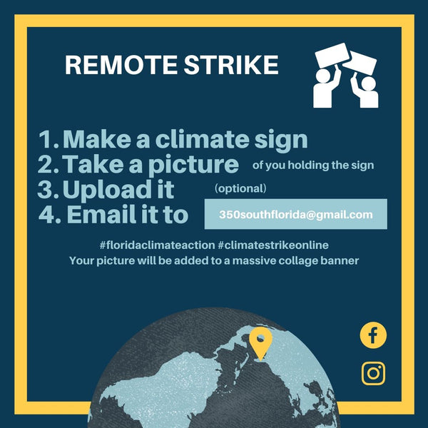 Remote Strike! Send your climate selfies!