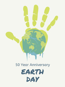 50th Year Anniversary Earth Day Poster