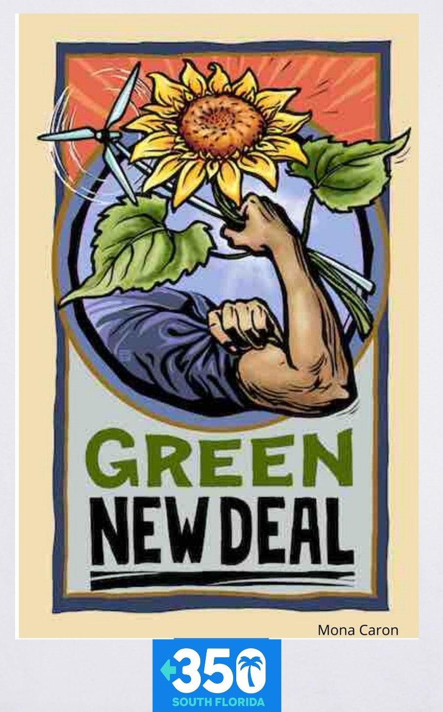 Green New Deal Tote Bag