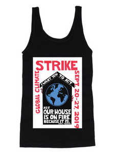 tank top climate strike
