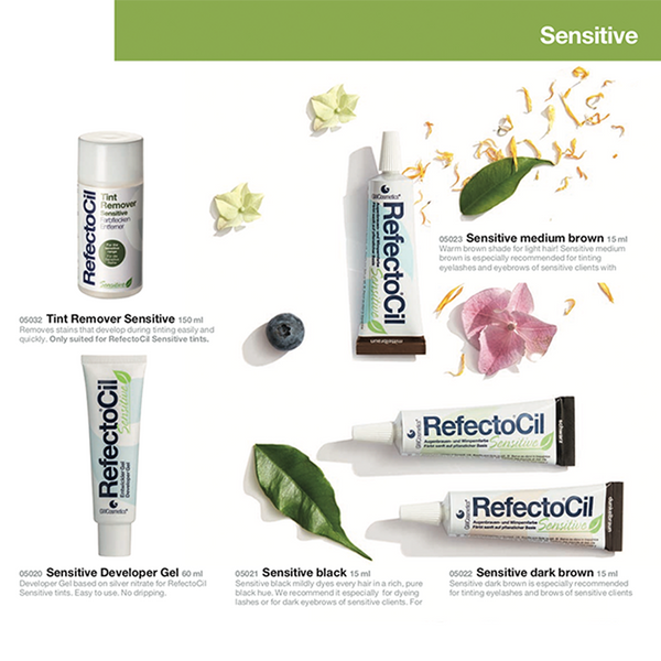 refectocil sensitive range perfect for staining the eyebrows and lasts up to 5 weeks