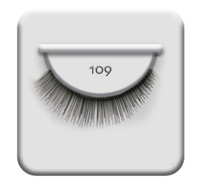 Ardell Lashes 109 Demi Black 6Pack