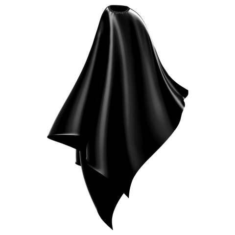cheap black cutting cape