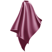 dusty pink cutting cape