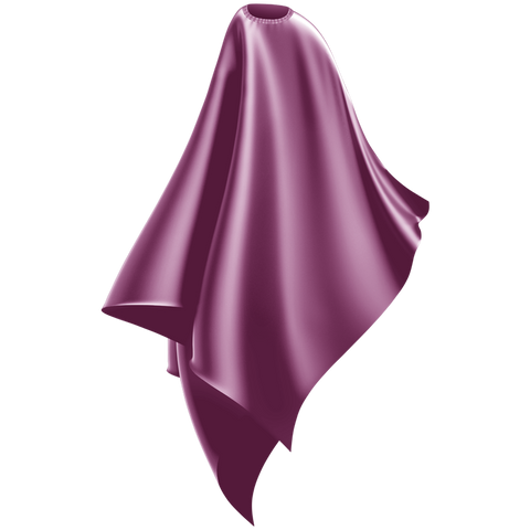 light purple adult cutting cape
