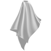 white adult size cutting cape
