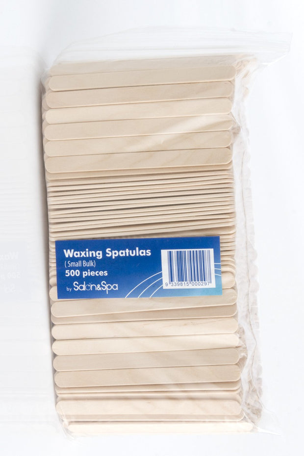 Small Waxing Spatula - Paddle Pop Sticks 500pk