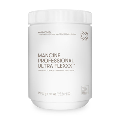 Mancine Professional Ultra Flexxx Vanilla Strip Wax 800ml