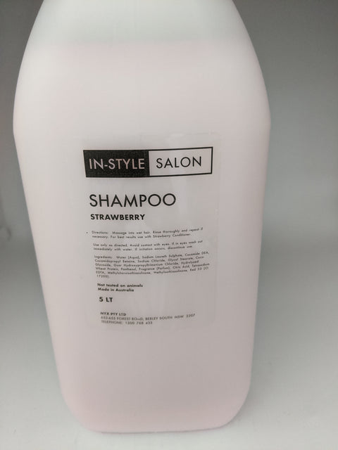 Instyle Strawberry Shampoo 5Litre