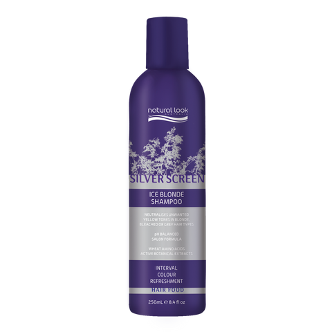 Natural Look Silver Ice Shampoo 250ml