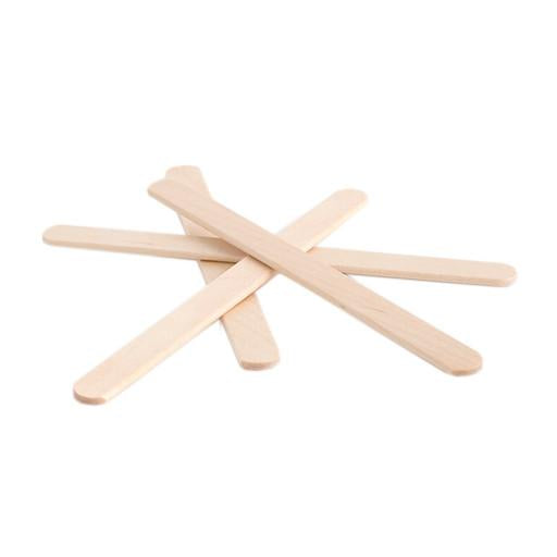 Small Waxing Spatula - Paddle Pop Sticks 100pk