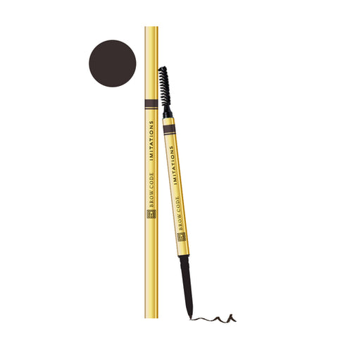 Brow Code IMITATIONS Micro Pencil - Deep Dark Brunette
